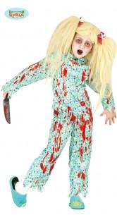 Disfraz muñeca diabólica niña