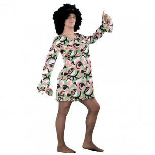 Disfraz de Vestido Años 70...