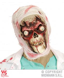 Máscara de zombie ojo saltones