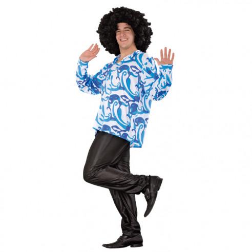 Disfraz de Camisa Años 60 para Hombre