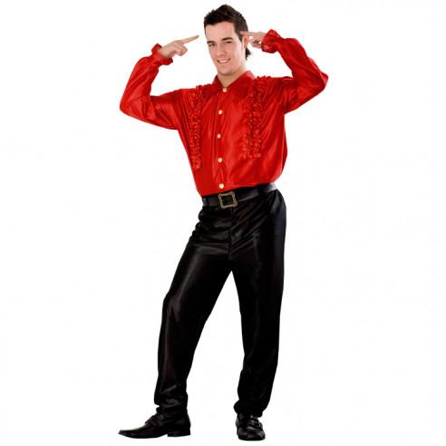 Disfraz de Camisa Chiquilicuatre Roja...