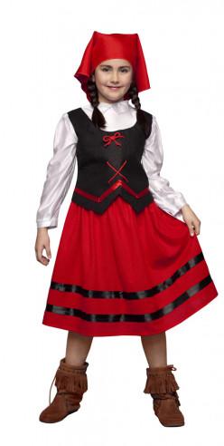 Disfraz pastora niña 5-6