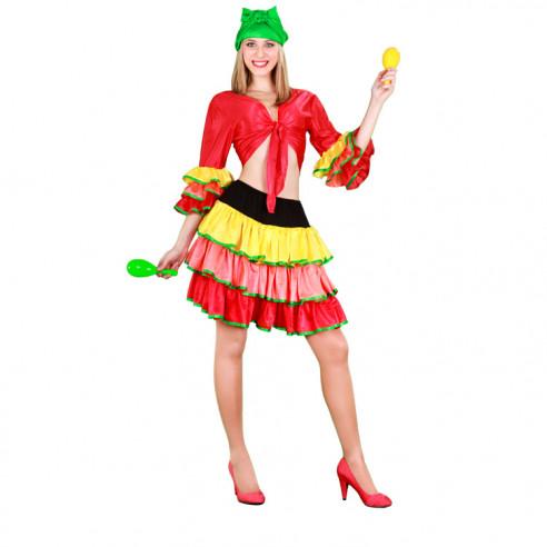 Disfraz de Bailarina Rumbera para Mujer