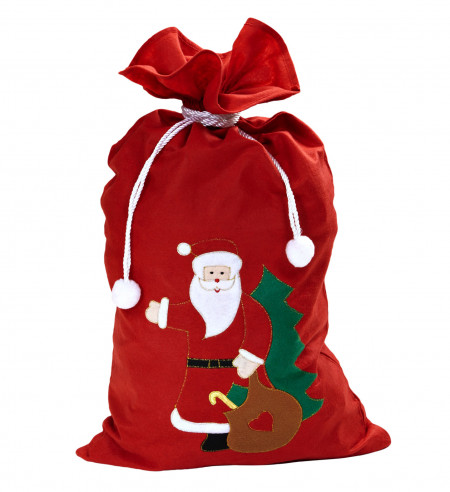 Saco de Papa Noel decorativo