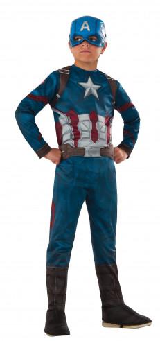 Disfraz de Capitán América para niño