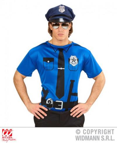 Camiseta de policia