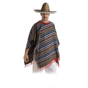 Disfraz Poncho Adulto