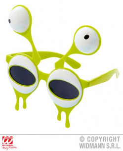 Gafas de alien