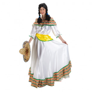 Disfraz Mejicana Lujo