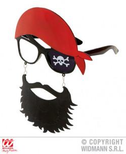 Gafas pirata con pañuelo
