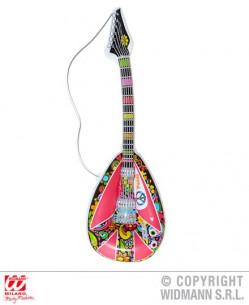 Guitarra hippie hinchable