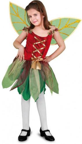 Disfraz hada del bosque niña