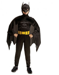 Disfraz Batman musculoso niño