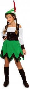 Disfraz Robin Hood niña