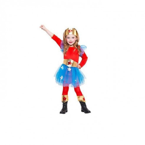 Disfraz superheroina niña