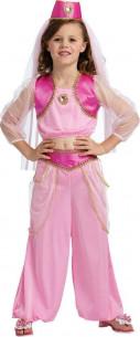Disfraz rosa árabe niña
