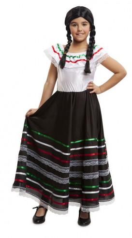 Disfraz de mejicana niña