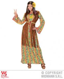 Disfraz mujer hippie