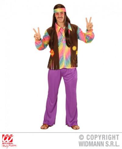 Disfraz Hippie hombre años 60