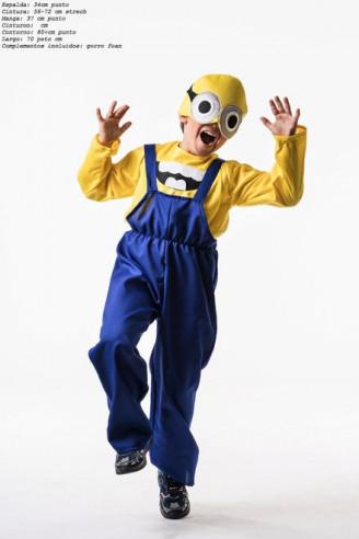 Disfraz de minion niño