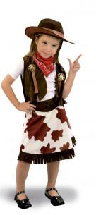 Disfraz de vaquera con falda