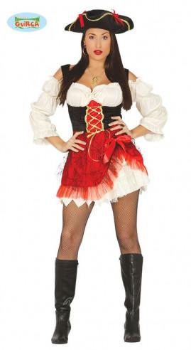 Disfraz pirata sexy mujer