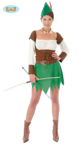 Disfraz Robin Hood mujer
