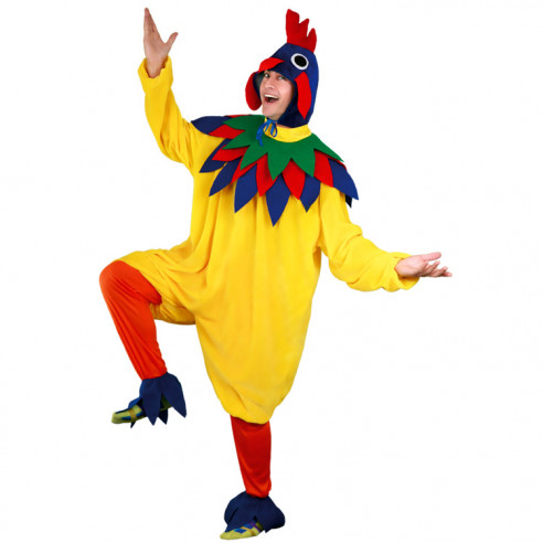 Disfraz Gallo Colores