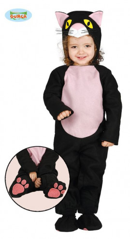 Disfraz de gato para bebé