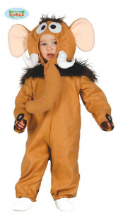 Disfraz mamut bebé