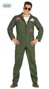 Disfraz piloto militar