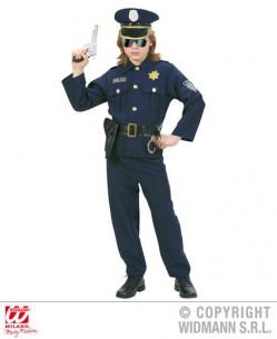 Disfraz de policía lujo