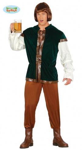 Disfraz posadero medieval hombre