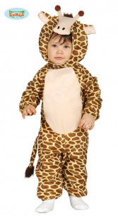 Disfraz jirafa tierna bebé