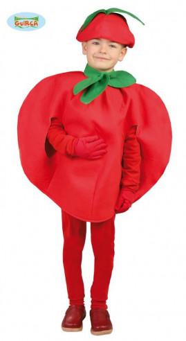 Disfraz tomate infantil