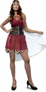 Disfraz guerrera sexy con capa
