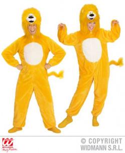 Disfraz león amarillo adulto