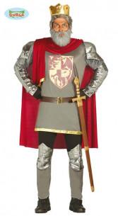 Disfraz Rey medieval