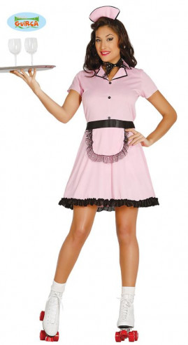 Disfraz camarera patinadora