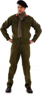 Disfraz de militar elegante