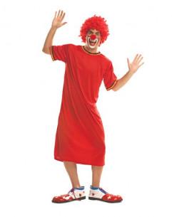 Disfraz payaso rojo barato