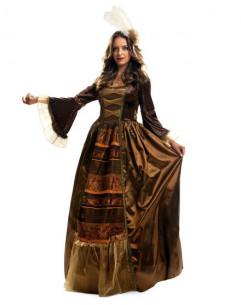 Disfraz dama medieval lujo