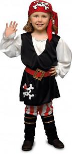Disfraz pirata niña con...
