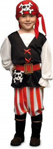 Disfraz pirata niño con...