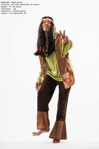 Disfraz de hippie para adulto