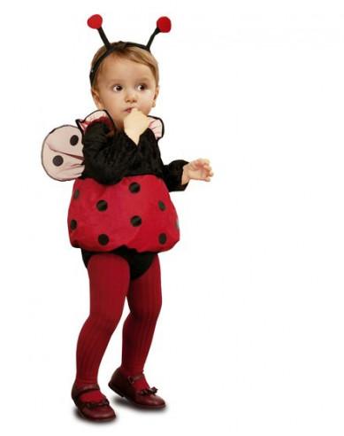 Disfraz mariquita bebé