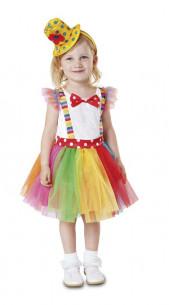Disfraz de payasa para niña