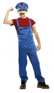 Disfraz Super Mario niño