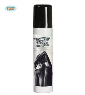Maquillaje en spray negro