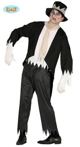 Disfraz de zombie elegante